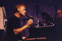 Bruce Hornsby, with John Molo in the background