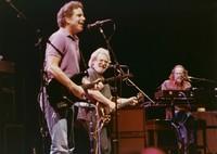 Grateful Dead: Bob Weir, Jerry Garcia, and Vince Welnick