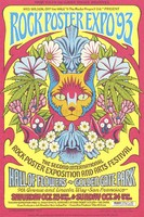 Wes Wilson, Off the Wall (tm), & The Poster Project Ltd. (tm) Present Rock Poster Expo '93, The Second International Rock Poster Exposition and Arts Festival - October 23-24 [1993]