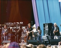 Grateful Dead: Bob Weir and Jerry Garcia with Traci Chapman and John Fogerty's band in concert against AIDS