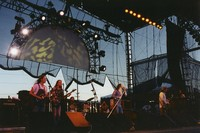 Black Crowes: Rich Robinson, Sven Pipien, Steve Gorman, Chris Robinson, Marc Ford, and Eddie Harsch