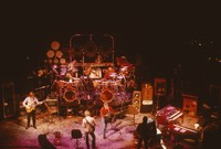"""Grateful Dead So Far"" production: Phil Lesh, Bill Kreutzmann, Bob Weir, unidentified, Mickey Hart, and unidentified crew members"
