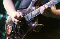 "Jerry Garcia's guitar ""Lightning Bolt"""