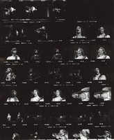 Grateful Dead, ca. 1974: contact sheet with 33 images
