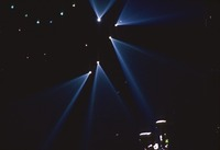 Grateful Dead, ca. 1992: stage lights