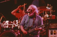 Grateful Dead, ca. 1995: Mickey Hart and Jerry Garcia