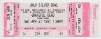 BGP and Evening Star Present - Grateful Dead, Santana - UNLV Silver Bowl - April 27, 1991