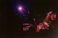 Grateful Dead at Nassau Veterans Memorial Coliseum: distant view of the stage and audience