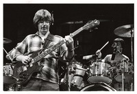 Grateful Dead: Phil Lesh, with Mickey Hart in the background