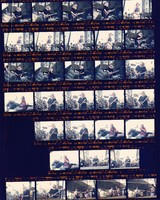 Grateful Dead at the Sam Boyd Silver Bowl: contact sheet with 32 images