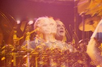 Bill Kreutzmann: multiple exposure