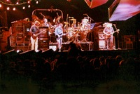 Grateful Dead at Madison Square Garden; Phil Lesh, Bill Kreutzmann, Bob Weir, Mickey Hart, Jerry Garcia