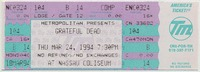 Metropolitan Presents Grateful Dead - Nassau Coliseum - March 24, 1994