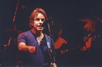 Grateful Dead: Bob Weir, with Mickey Hart in the background