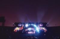 Grateful Dead, ca. 1995: stage lighting