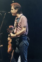 Grateful Dead, ca. 1991: Bob Weir, with Phil Lesh in the background