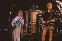 Grateful Dead, ca. 1992: Phil Lesh and Bob Weir