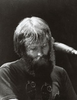 Brent Mydland at an unidentified venue, ca. 1989