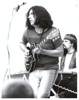 "Grateful Dead: Jerry Garcia, with Ron ""Pigpen"" McKernan in the background"