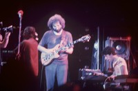 Grateful Dead: unidentified man, Jerry Garcia, Ned Lagin
