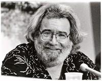 Grateful Dead Rainforest Benefit Concert: Jerry Garcia at a UN Conference on Rainforests press conference