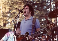 Grateful Dead: Bob Weir, with Phil Lesh behind