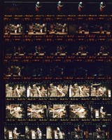 Grateful Dead and Tibetan Monks, at Shoreline Amphitheatre: contact sheet with 35 images