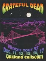 Grateful Dead - Winter Tour '92 - Dec. 11, 12, 13, 16, 17 [1992] - Oakland Coliseum