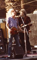 Grateful Dead, ca. 1980s: Bob Weir and Jerry Garcia