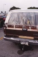 "Deadhead vehicle with ""RU KYND 1"" Illinois license plate, ca. 1991"