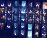 Grateful Dead at the Spectrum: contact sheet with 33 images