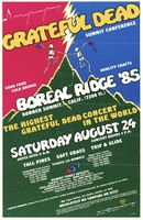 Grateful Dead - Summit Conference - Boreal Ridge, Donner Summit,  August 24, 1985