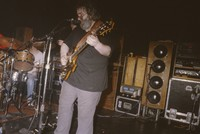 Jerry Garcia Band, ca. 1985: David Kemper, John Kahn, Jerry Garcia