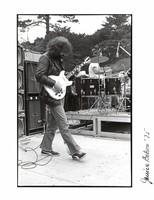 Grateful Dead: Jerry Garcia with Bill Kreutzmann in background