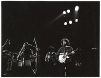 Jerry Garcia Band: Donna Godchaux, John Kahn, and Jerry Garcia