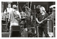 Grateful Dead, ca. 1989: Mickey Hart, Bob Weir and Jerry Garcia