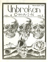 Unbroken Chain, Volume 4, No. 2 - March/April 1989