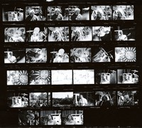 Grateful Dead: contact sheet with 33 images