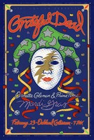 Grateful Dead, Ornette Coleman and Prime Time. Mardi Gras, February 23, 1993, Oakland Coliseum