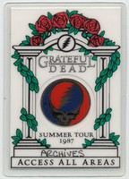 Grateful Dead Summer Tour 1987 - Access All Areas [laminate]