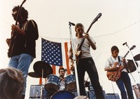 Grateful Dead: Jerry Garcia, Bill Kreutzmann, Phil Lesh, and Bob Weir