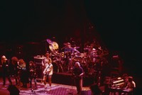 Bangles and Grateful Dead: Debbi Peterson, Michael Steele, Vicki Peterson, Susanna Hoffs, Phil Lesh, Bob Weir, Bill Kreutzmann, Jerry Garcia, Cyril Neville, Ivan Neville, Brent Mydland