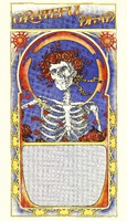 Grateful Dead - [Fall 1971 Tour - October 19, 1971 - Northrop Auditorium, Minneapolis, MN] - template poster with no event