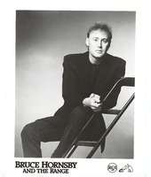 Bruce Hornsby of Bruce Hornsby and the Range, ca. 1988: publicity photo for RCA