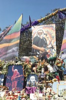 Memorial for Jerry Garcia: altar collection