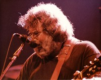 "Jerry Garcia performing ""The Wheel"""