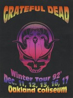 Grateful Dead - Winter Tour '92 - Dec. 11, 12, 13, 16, 17 [1992] - Oakland Coliseum