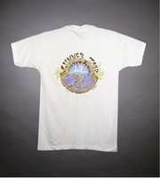 "T-shirt: ""Grateful Dead"" - water nymph skeleton. Back: ""Summer Tour 92"""