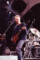 Sting and his band, unidentified musicians