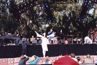 "Bill Graham Memorial (Laughter, Love and Music): ballerina Evelyn Cisneros dancing to ""Ave Maria"", with Chester Thompson and Aaron Neville"